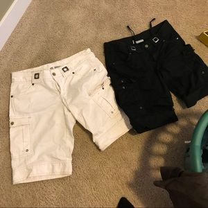 Two pairs of Athleta Dipper shorts. Size 8